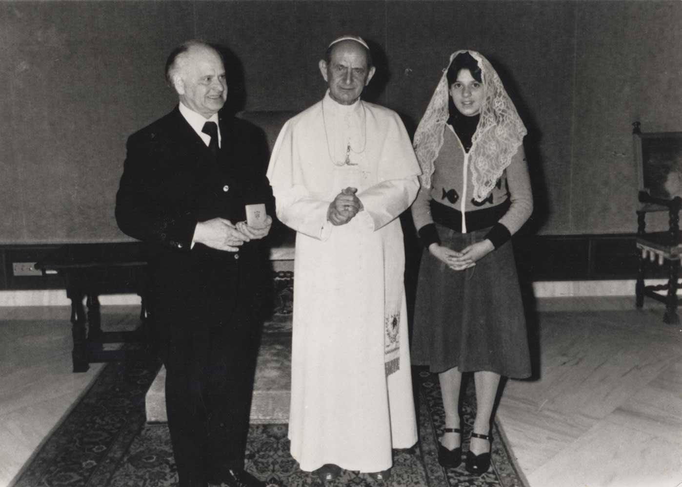 Audience with the Pope - 1