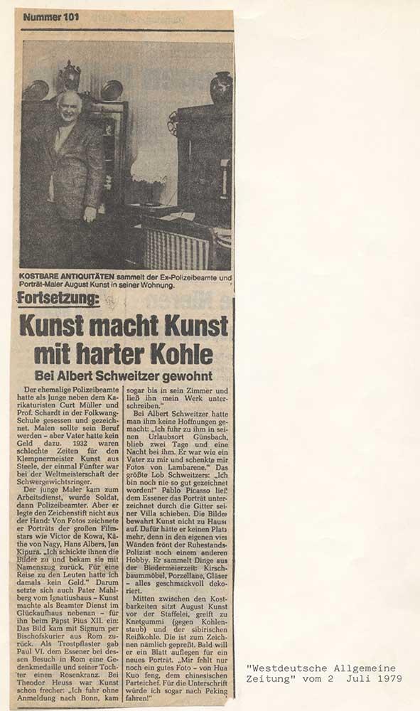 Press report 1979