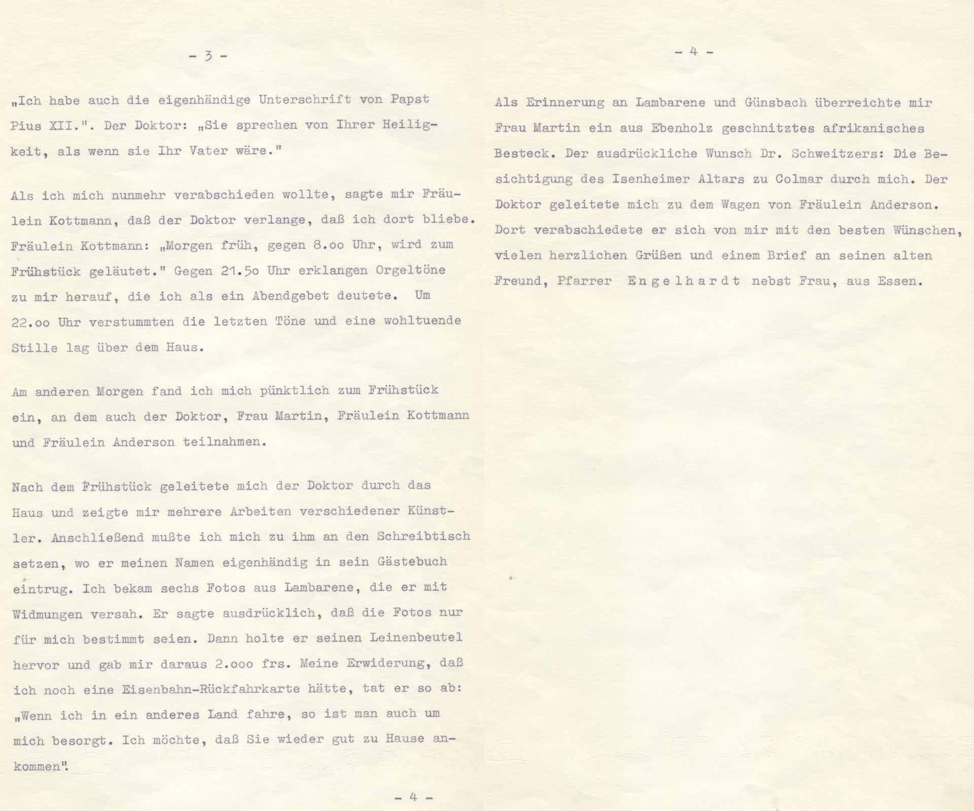 Journey to Albert Schweitzer - Part 2